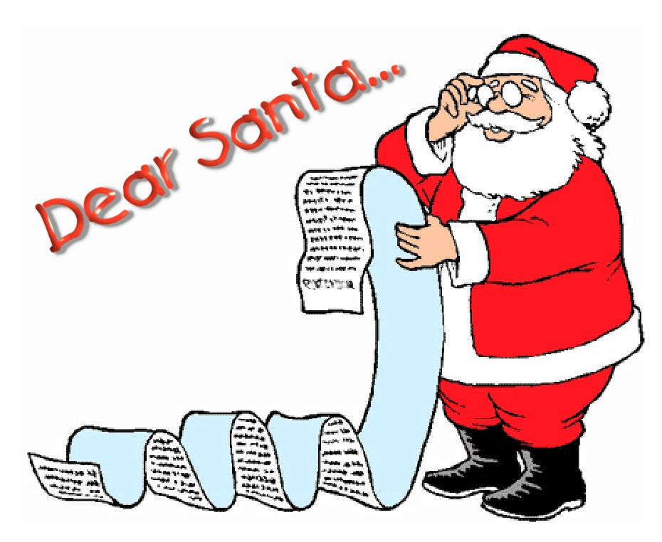 Dear Santa...
